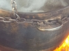 Sap Boiling in Pot
