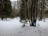 Snowshoe Trail with Buckets